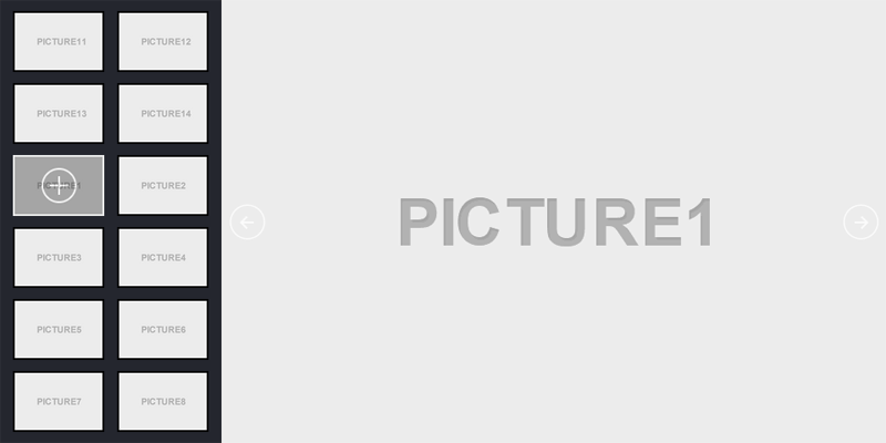 jQuery响应式动画切换图片插件