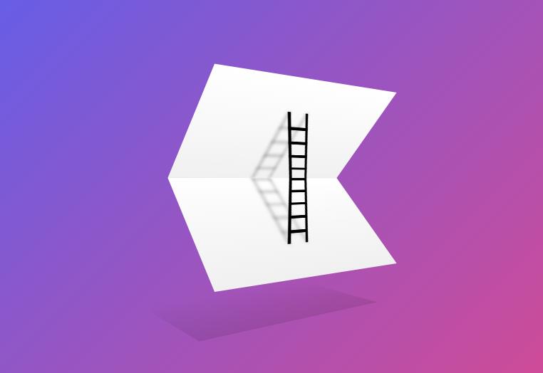 3D旋转的CSS艺术折纸动画