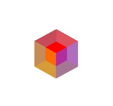 css3立方体3D旋转动画效果