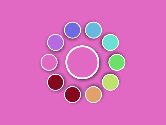 jQuery css3调色板选择网页背景颜色代码
