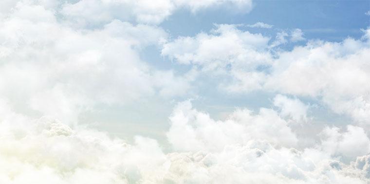 非常逼真的css3天空白云飘动背景动画特效