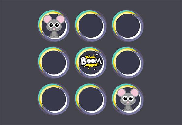 简单的打地鼠小游戏js代码