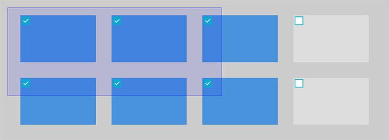 DragSelect鼠标拖动选择插件