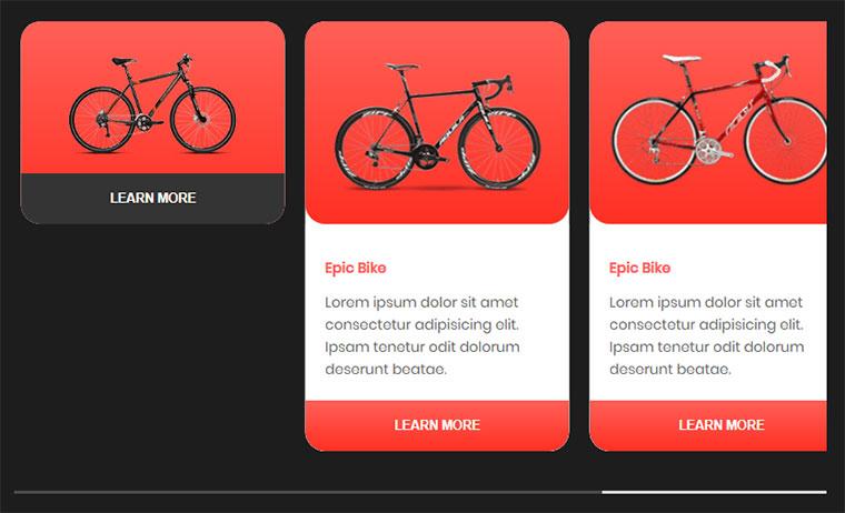 jQuery产品图文列表左右拖动和展开收缩特效