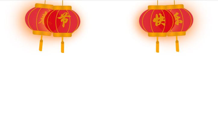 css3春节快乐灯笼动画特效
