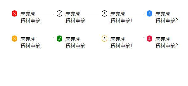 简单的vanilla.js步骤条特效