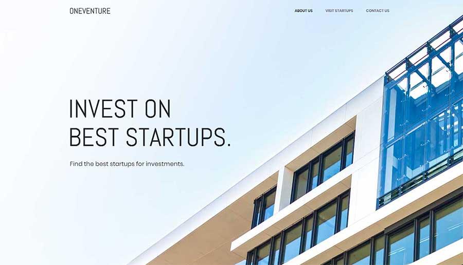 简洁宽屏大气html5响应式投资公司网站模板