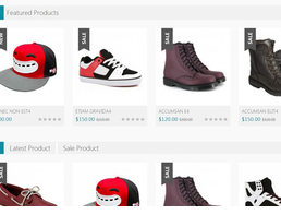 PHP中英文双语版鞋帽配饰在线购物外贸商城源码 支持在线支付在线下单