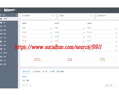 PHP CRM客户关系管理系统 客户资料整理数据共享系统 二次开发源码
